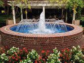 A beautiful water fountain