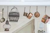 Kitchen Utensils Hanging In House