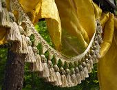 Tassel Fringe And Silk In The Forest
