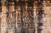 Ancient temple complex Bayon, Siem Reap, Cambodia
