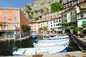 Waterfront In Town Limone Sul Garda, Lake Garda