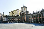 National College On Piazza Dante Alighieri, Naples