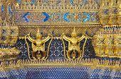 The Garuda And Textured At Wat Phra Kaew