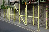 Yellow Scaffolding