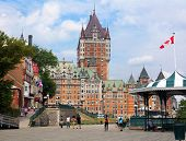 Chateau Frontenac From The Terrace