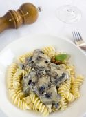 Pasta With Mushrooms Sauce