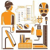 tools, engineering icons