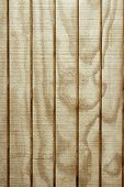 Closeup of wooden wall