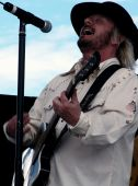 Donnie Van Zant Of 38 Special At Celebrate Fairfax, Fairfax, Va, June 15 2006