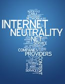Word Cloud Internet Neutrality