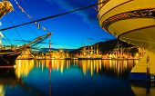 foto of tall ship  - BERGEN NORWAY  - JPG