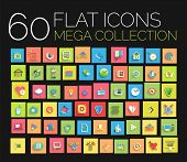 picture of universal sign  - Flat icons mega collection - JPG