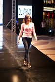 Fashion Show For Splash Fashion Model 02 (on Runway)