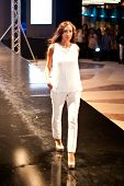 Fashion Show For Splash Fashion Model 06 (on Runway)