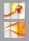 Globe wave tech tri-fold brochure