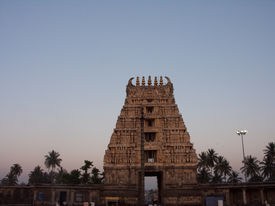 stock photo of belur  - The temple tower  - JPG