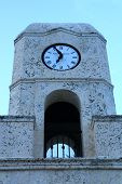 Top half of Worth Avenue clock tower