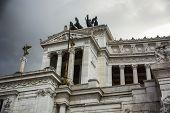 The Vittoriano or Altare della Patria in Rome, Italy