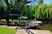 Canal Lock, Stratford-upon-Avon.