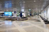 KUALA LUMPUR-APRIL 23: airport interior on April 23, 2014 in Kuala Lumpur, Malaysia. Kuala Lumpur International Airport (KLIA) is Malaysia's main international airport