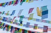 Tibetan prayer flag, Nepal