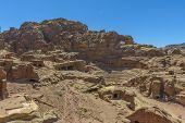 Roman Theater In Petra, Jordan