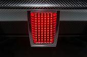 Rear sport car light