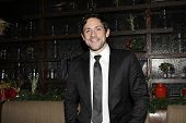 LOS ANGELES - DEC11: Steve Kazee at Scott Nevins Presents SPARKLE: An All-Star Holiday Concert to benefit The Actors Fund at Rockwell Table & Stage on December 11, 2014 in Los Angeles, California