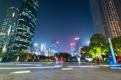 Guangzhou Huacheng Square At Night
