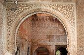 Moorish Archway, Palace of Alhambra.