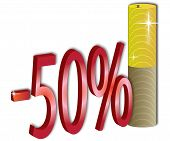 50 % Discount