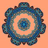 image of karma  - Round Mandala - JPG