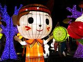Chinese lanterns for moon festival