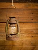 Antique Storm Lantern