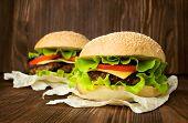 Two Big Hamburger