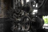 Old Pipes And Valves