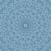 Pattern Of Blue Cloth Texture