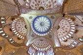 Blue Mosque Interior - Istanbul, Turkey