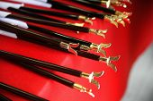 Japanese ceremonial notched arrows