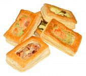 Puff  Pastry Vol Au Vents