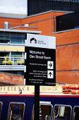 Gas Street Basin Sign, Birmingham.