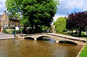 Bridge over river, Bourton on the Water.