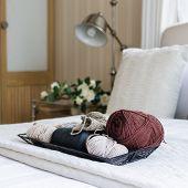 Tray Of Crochet
