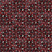 foto of color spot black white  - Geometric seamless pattern in red - JPG