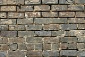 Old Brick Wall with Metal Peg