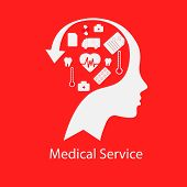 pic of diagnostic medical tool  - The medical tool shows as the medical service concept - JPG