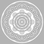 foto of trippy  - coloring book page for adults  - JPG