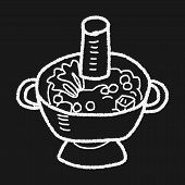 foto of chafing  - Chafing Dish Doodle - JPG