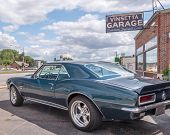 Постер, плакат: 1967 Chevrolet Camaro Vinsetta Garage Woodward Dream Cruise MI