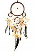 Dreamcatcher Isolated On White Background